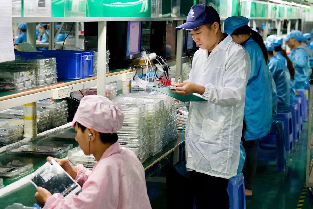 Monitorizacion de produccion China